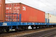 Rail containers sale delivery