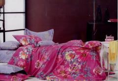 Комплект полуторного сатинового постельного белья