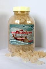 Натуральная соль залива Сиваш (крупная 1,2 кг) с