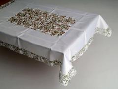 Скатерть на квадратный стол 180*180 ромашки