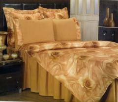 Комплект двуспального евро постельного белья