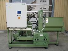 Briquette press of RUF-LIGNUM