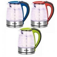 Чайник электрический 1,8 л стеклянный.LSU-1121