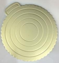 Подложка для торта серебристая 220 мм Empire 0288