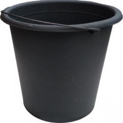 Ведро полипропиленовое черное 7л Полимерагро