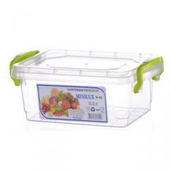 Контейнер пищевой Minilux 0,3 л АЛ Пластик(25-446)