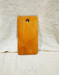 Доска разделочная деревянная 18,5 х 33 см