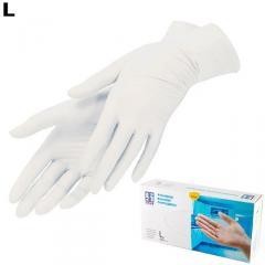 Перчатки смотровые виниловые Sirap М 8432 (56-283)