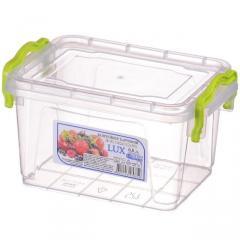 Контейнер пищевой LUX №2 0,8л АЛ Пластик(25-445)