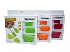 Набор силиконовых кухонных инструментов 4 предмета