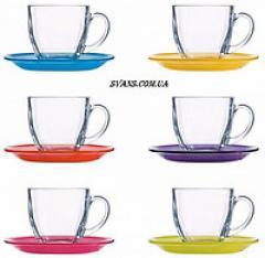 Carina Rainbow Сервиз чайный 220 мл - 12 пр.