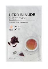 Питательная маска для лица Missha Herb In Nude