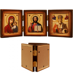Icon in an icon case, skladen