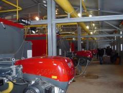 Модуляційні газові пальники Riello серії RS