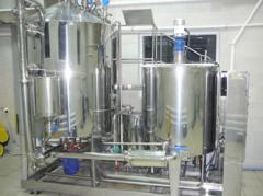 Оборудование для производства косметических кремов