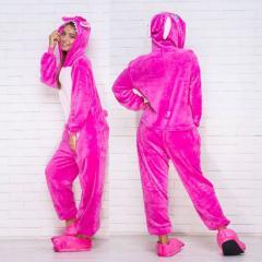Пижама кигуруми Cтич розовый