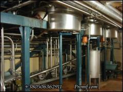 Vacuum-evaporator installation of MKT of 12.000 kg