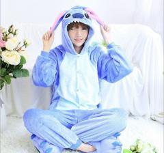 Пижама кигуруми Стич синий (взрослые и детские размеры)