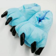 Тапочки кигуруми Лапы, тапки домашние. Голубой