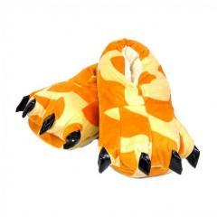 Тапочки кигуруми Лапы, тапки домашние. Жираф