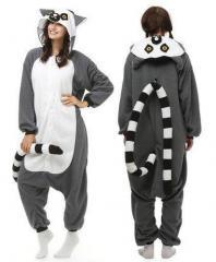 Пижама кигуруми Лемур