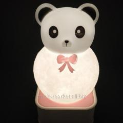 Ночник Медведь Панда (voice control night light)