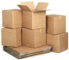 Gofroyashchiki from 5 layer corrugated cardboards