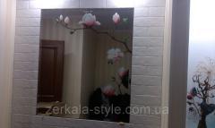 Монтаж (установка) зеркал и стеклянных панелей на