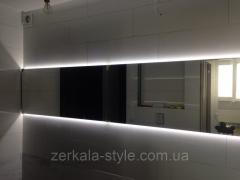 Зеркала для сан-узлов со светодиодной подсветкой