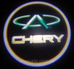 Лазерный проектор логотипа автомобиля CHERY