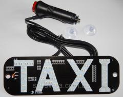 Табличка Такси (светодиодная)( зеленая/красная ) с