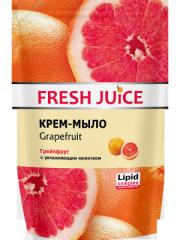 Дойпак-пакет крем-мило Fresh Juice грейпфрут 460г