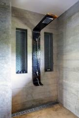 Ladders for shower cabins