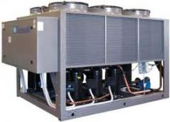 Установки для охлаждения воды, рассола