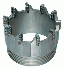 Hard-alloy crowns of SA-5 are a mikroreztsovy