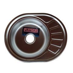 Кухонная мойка Platinum 5745 Microdecor 0,6 мм
