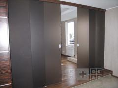 Partitions glass sliding Donetsk