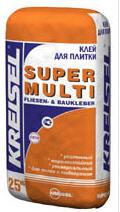 Клей для плиток (усиленный) SUPER MULTI FLIESEN