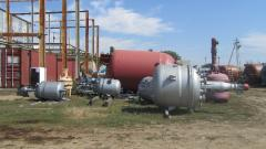 Chemical reactors from 0,23m.kub. to 100m.kub