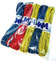 Веревка бельевая D=4mm цветная,  15m