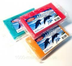 Губка банная Дельфин,  мочалки