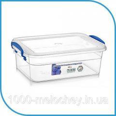 Пищевой пластиковый контейнер 2, 5 л,  бокс...