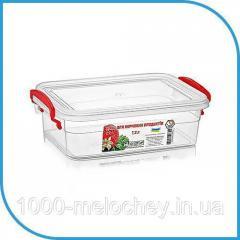 Пищевой пластиковый контейнер 1, 2 л,  бокс...