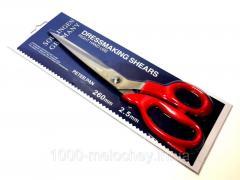 Ножницы универсальные швейные King Gary K-31 (260mm), портновские ножницы