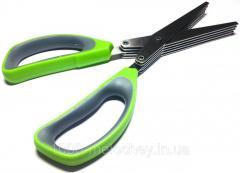 Ножницы кухонные для нарезки зелени, измельчитель для зелени