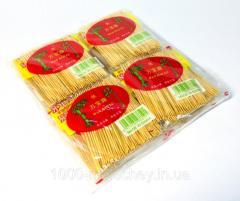 Зубочистки деревянные плоские ( 20пакетиков*6