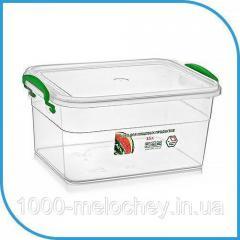 Пищевой пластиковый контейнер 3, 5 л,  бокс...