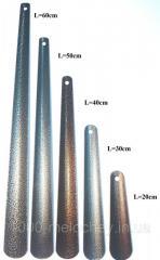 Лопатка,  рожок для обуви цельнометаллический
