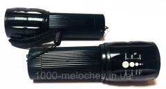 Фонарик карманный большой, ручной фонарь, h=105mm