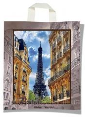 """Пакет с петлевой ручкой тип """"KVS"""" """"Париж""""..."""